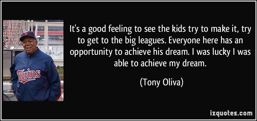 Tony Oliva's quote #1