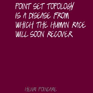 Topology quote #1
