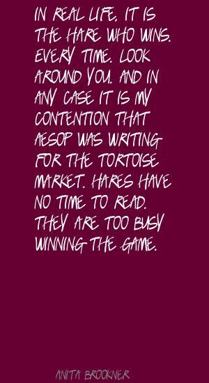 Tortoise quote #1