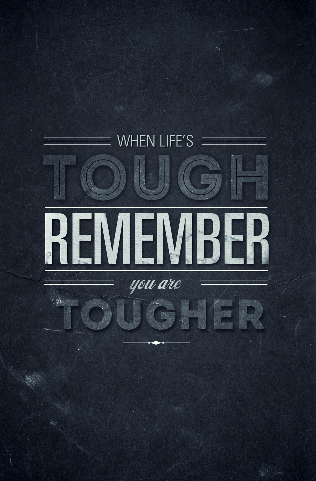 Tougher quote #4