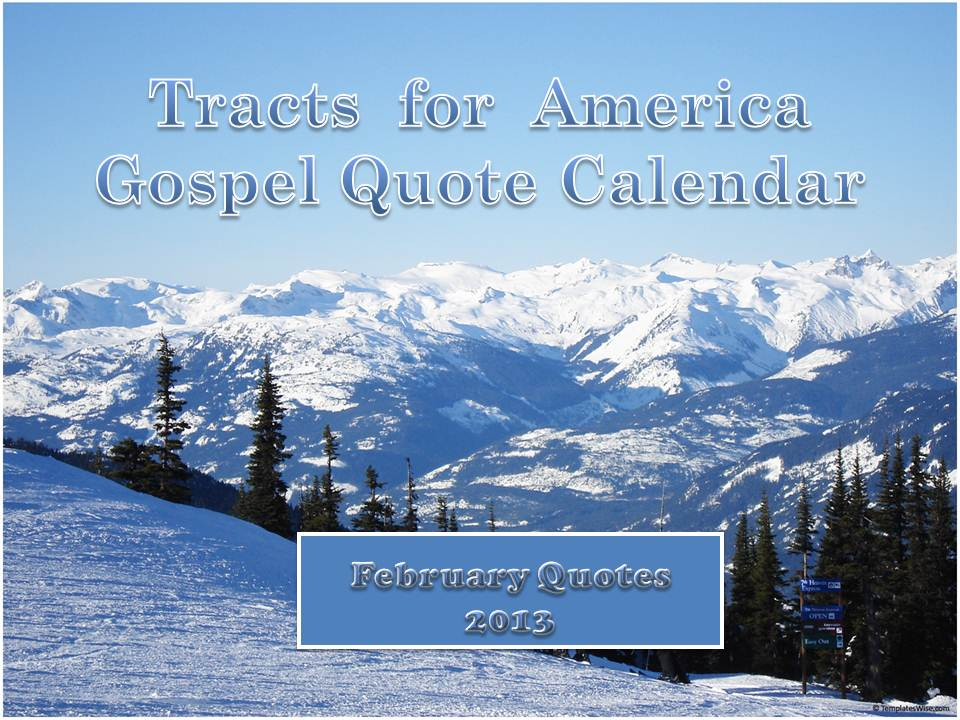 Tracts quote #2