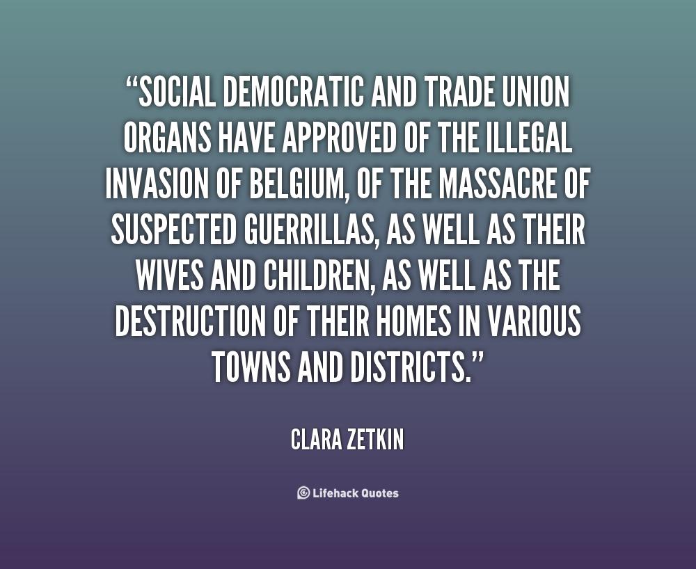 Trade Union quote #1