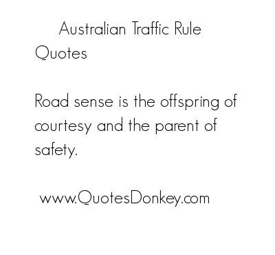 Traffic quote #5