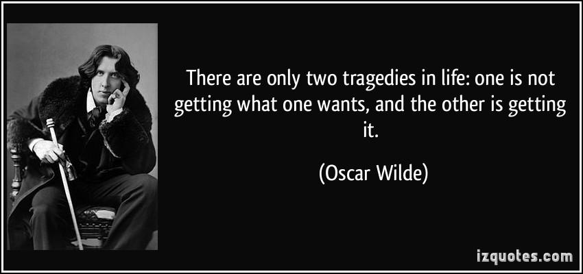 Tragedies quote