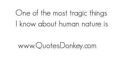 Tragic quote #6