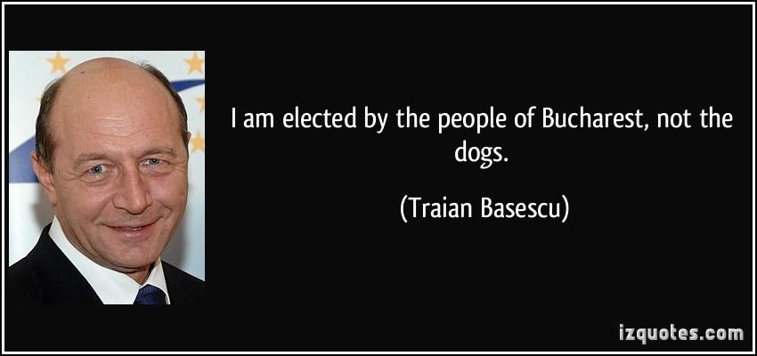 Traian Basescu's quote