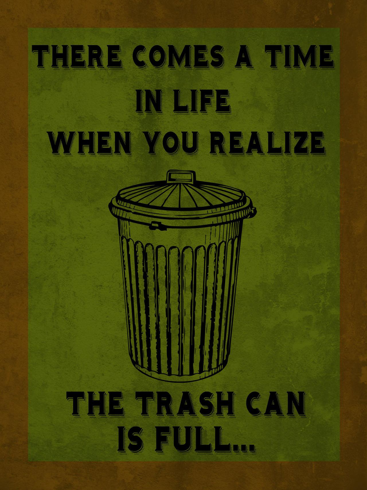 Trash quote #2