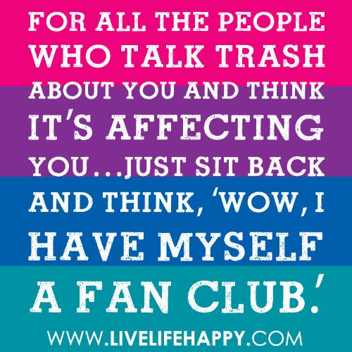 Trash quote #8