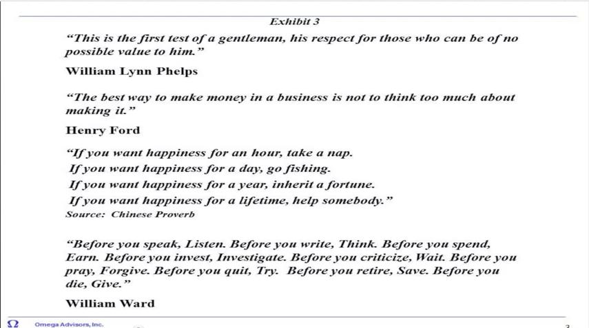 Tremendous Respect quote #2