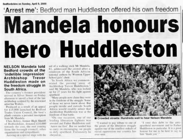 Trevor Huddleston's quote #2