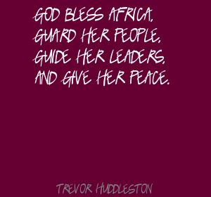 Trevor Huddleston's quote