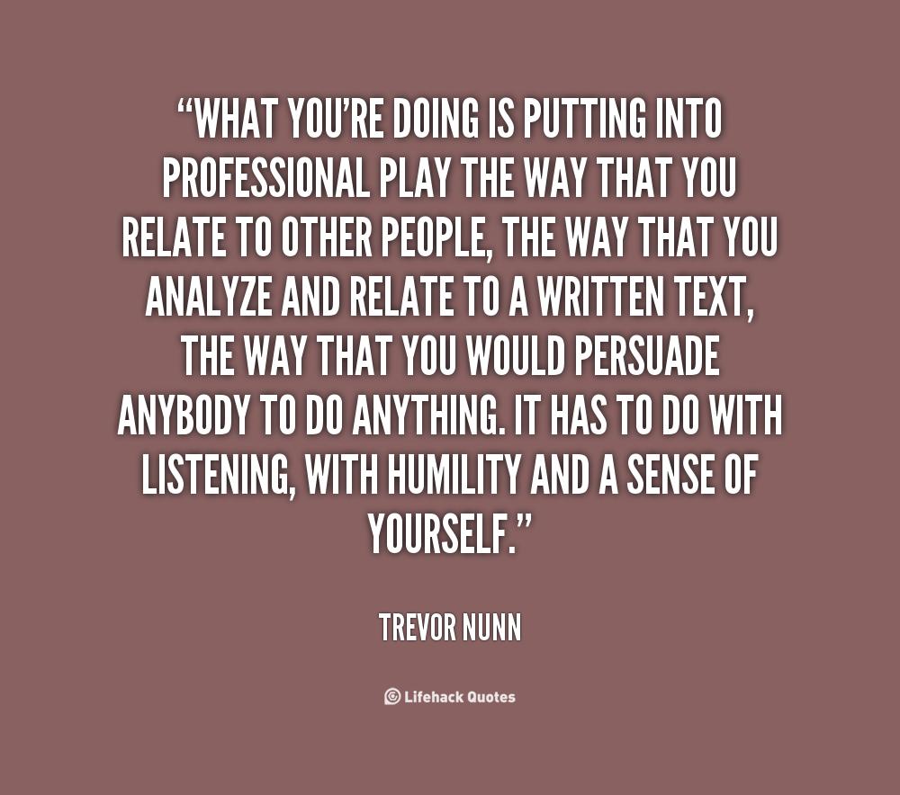 Trevor Nunn's quote #3