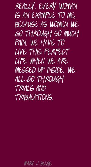 Tribulations quote #2