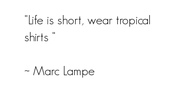 Tropical quote #1