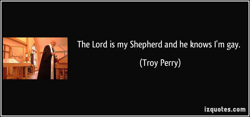 Troy Perry's quote #2