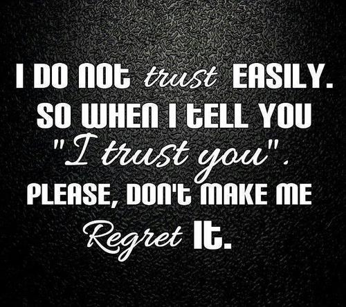 Trusting quote #1