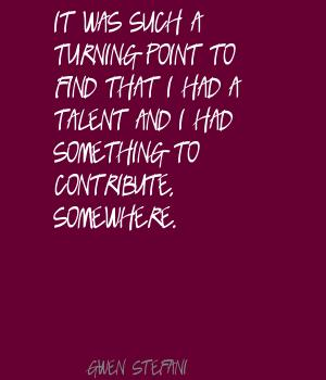 Turning Point quote #2