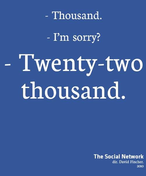 Twenty-Two quote #1