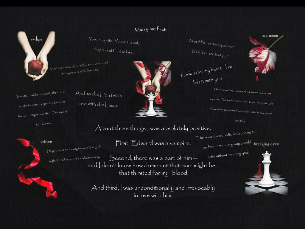 Twilight quote #1
