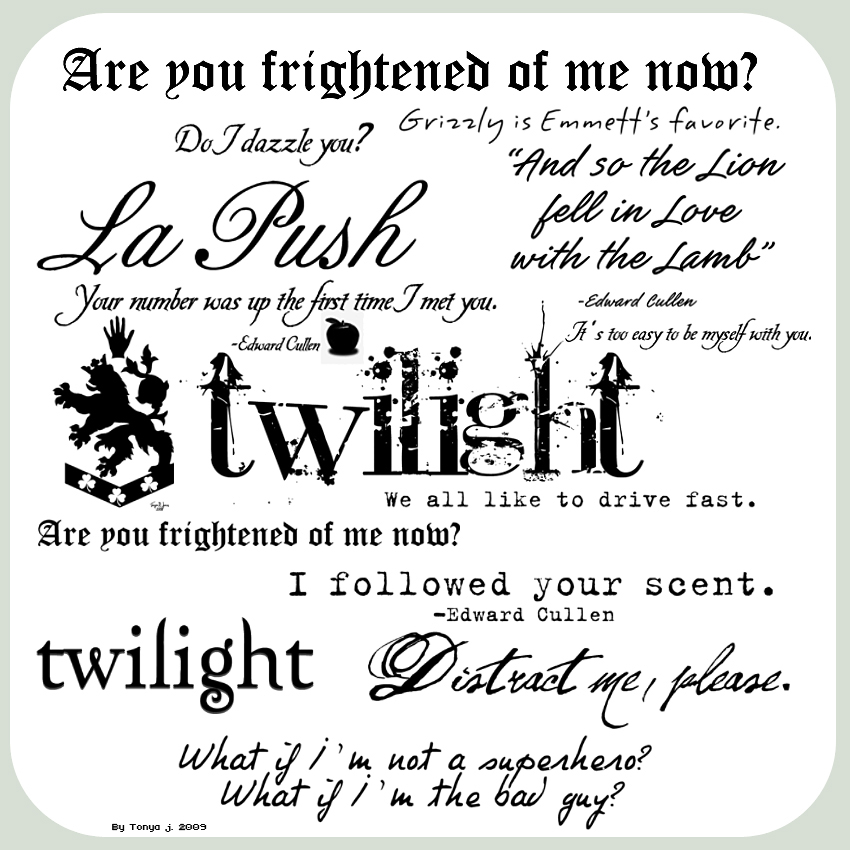 Twilight quote #2