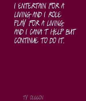 Ty Olsson's quote #2