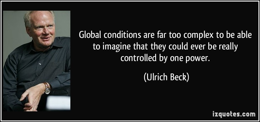 Ulrich Beck's quote #2