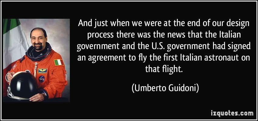 Umberto Guidoni's quote #6