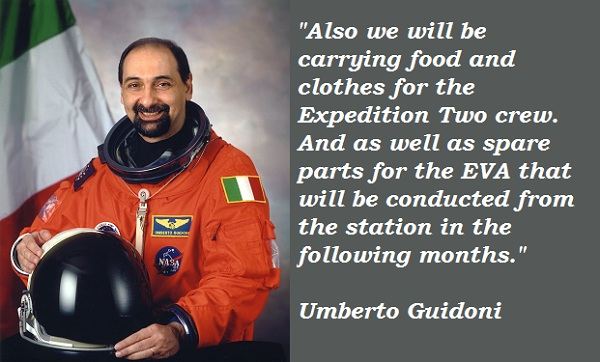Umberto Guidoni's quote #4
