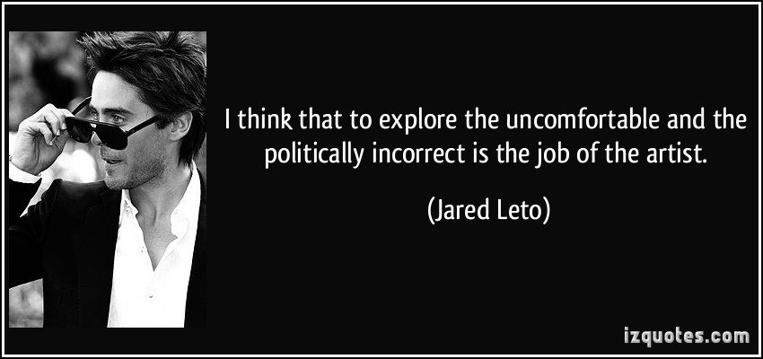 Uncomfortable quote #2