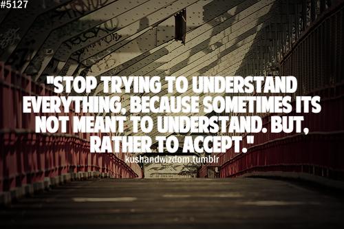 Understand quote #1