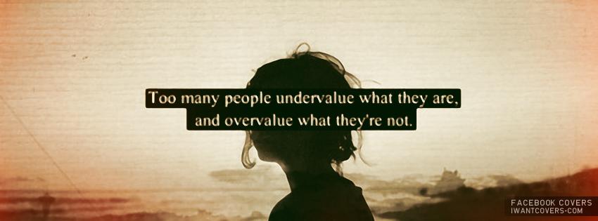 Undervalue quote #1