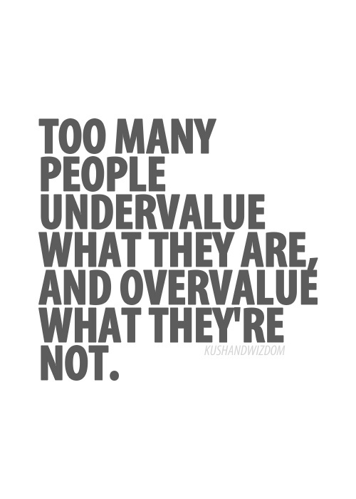 Undervalued quote #2