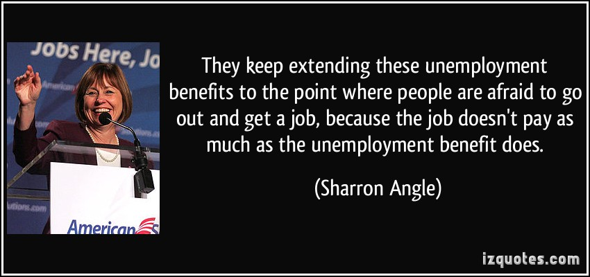 "quotes unemployment Unemployment quotes "" the great depression, like most other periods of severe unemployment , was produced by government mismanagement rather than by any inherent instability of the private economy."