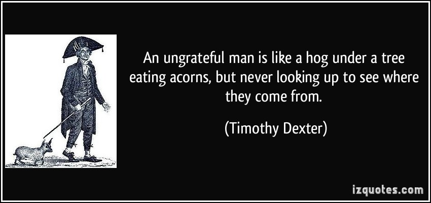 Ungrateful quote #5