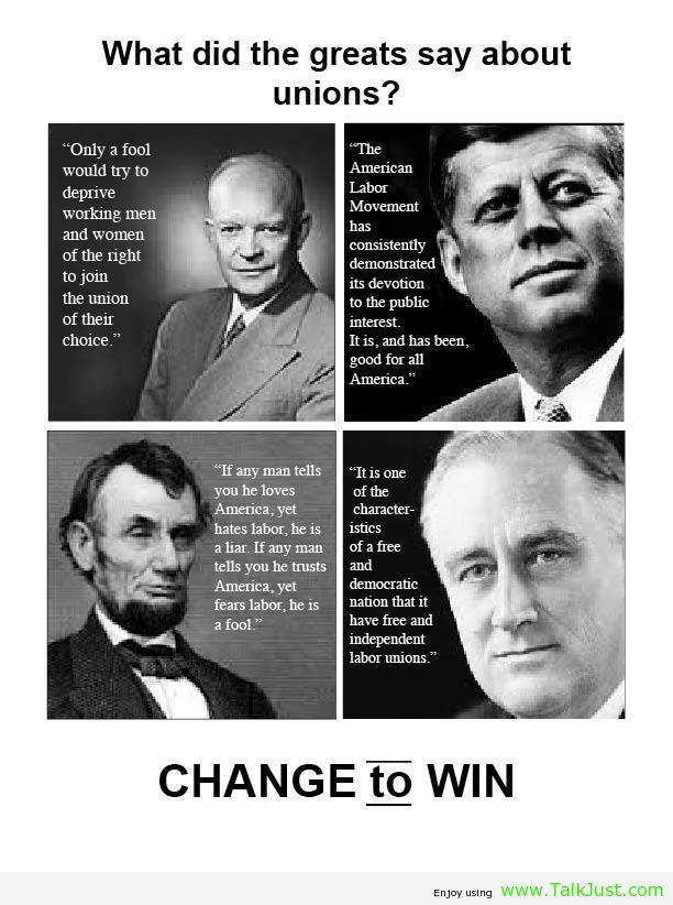 Unions quote #1