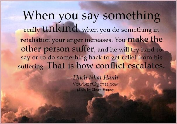 Unkind quote #1