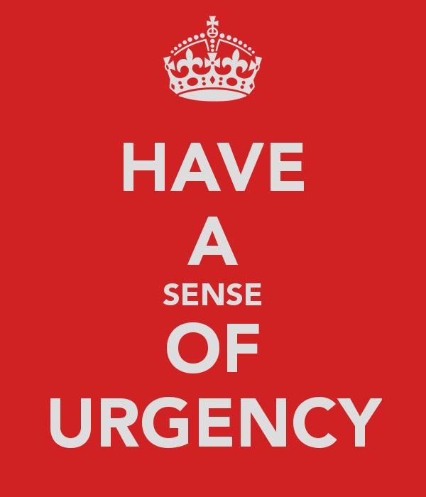 Urgency quote #1