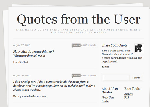 Users quote #3