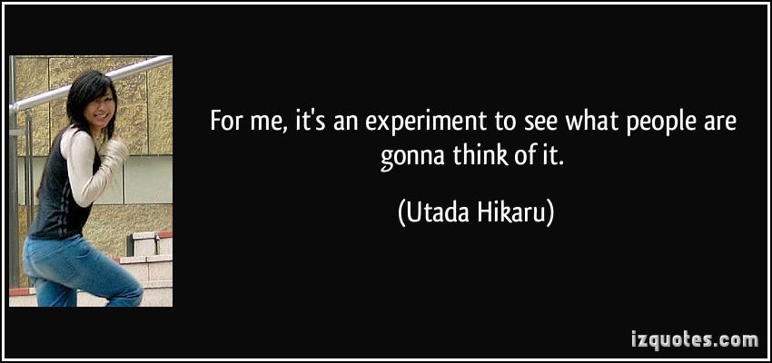 Utada Hikaru's quote #2