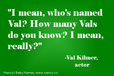 Val quote #1