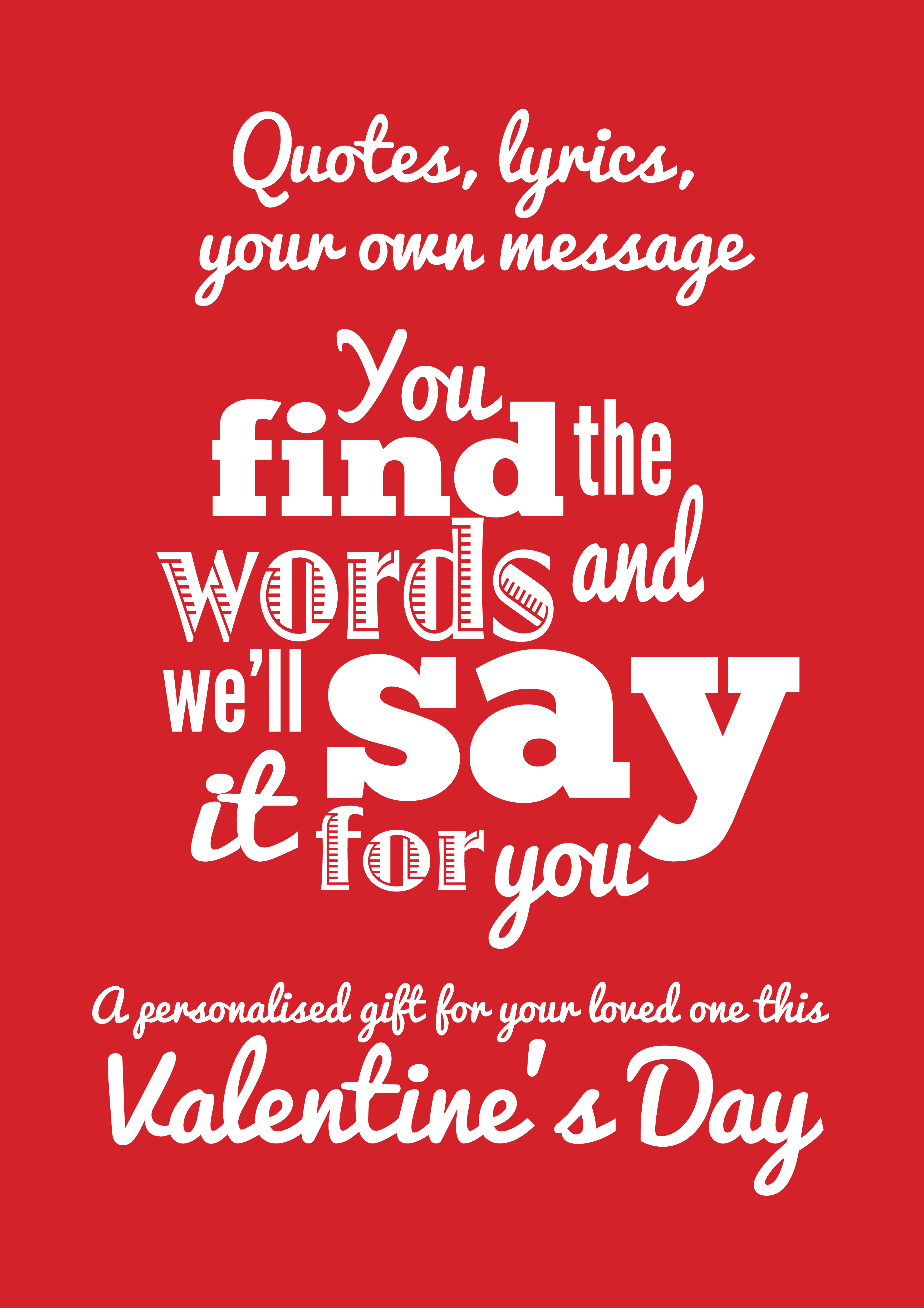 valentine quote 1 - Valentine Sayings For Husband