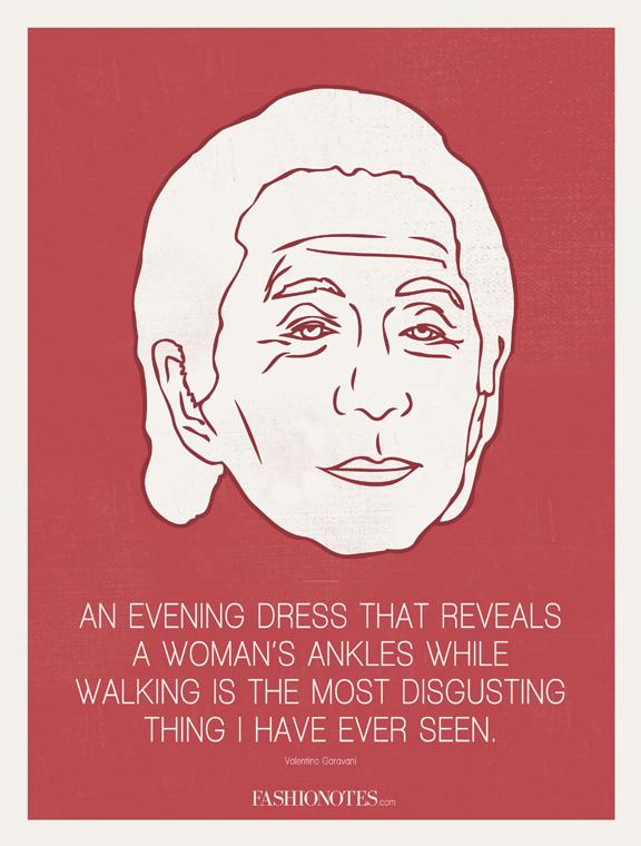 Valentino quote #1