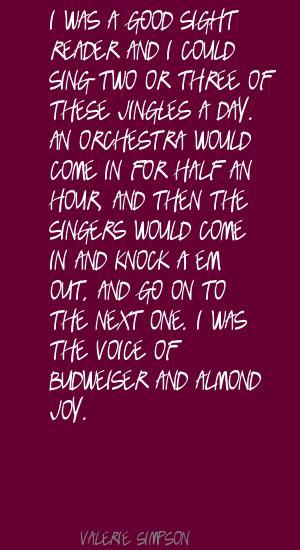 Valerie Simpson's quote #6