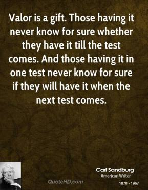 Valor quote #1