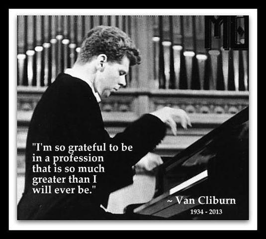Van Cliburn's quote