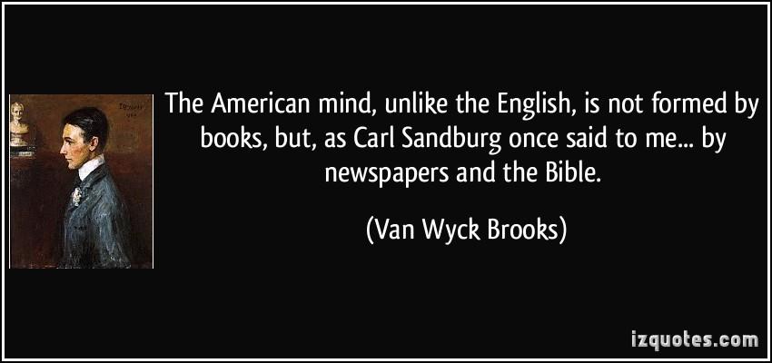 Van Wyck Brooks's quote #6