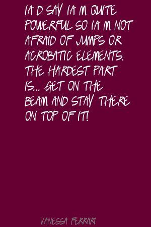 Vanessa Ferrari's quote #1