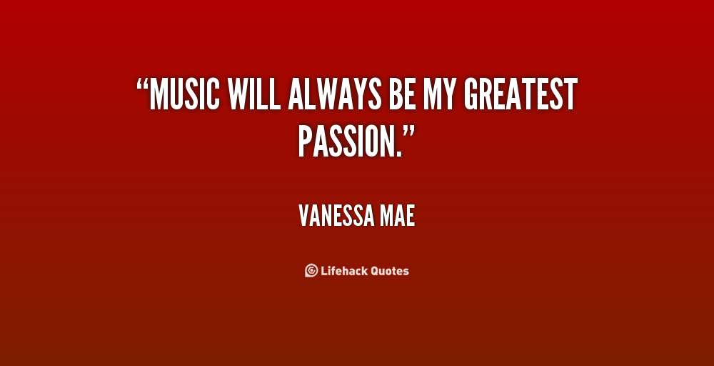 Vanessa Mae's quote #4