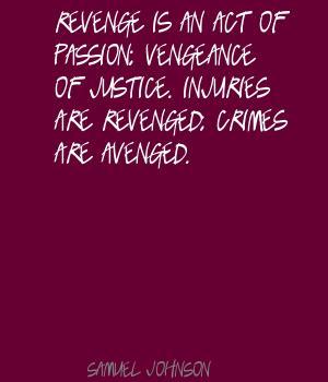 Vengeance quote #2