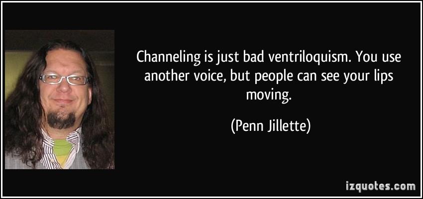 Ventriloquism quote #2